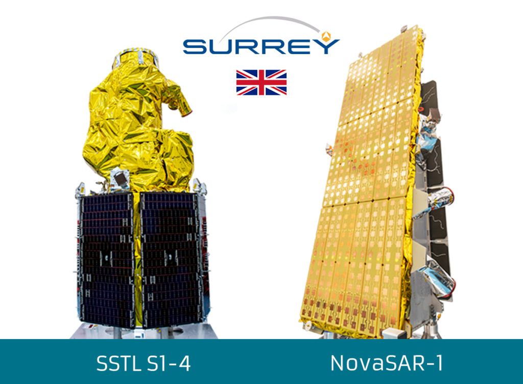 SSTL confirms the successful launch of NovaSAR-1 and SSTL S1-4 satellites