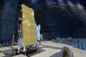 NovaSAR-1 testing at ADS Portsmouth