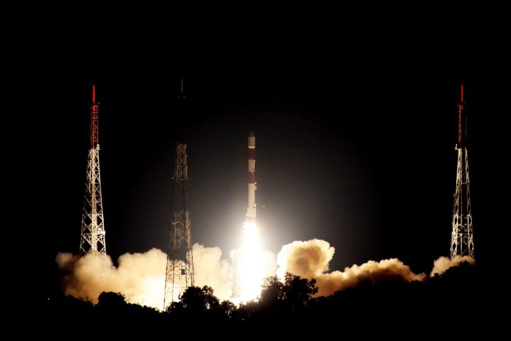 NovaSAR-1 PSLV-C42 Launch