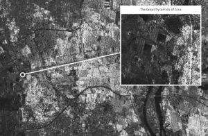 NovaSAR-1 image of Giza, Egypt