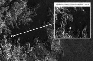 NovaSAR-1 image of Sydney Harbour