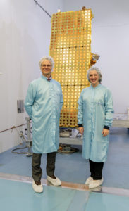 CCEO staff with NovaSAR-1