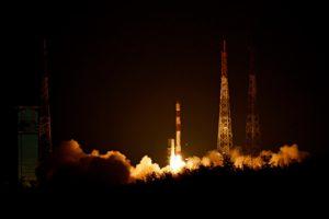 PSLV-C42 Liftoff 1