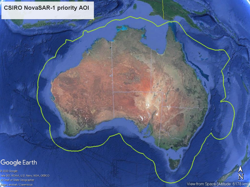 CSIRO Priority AOI