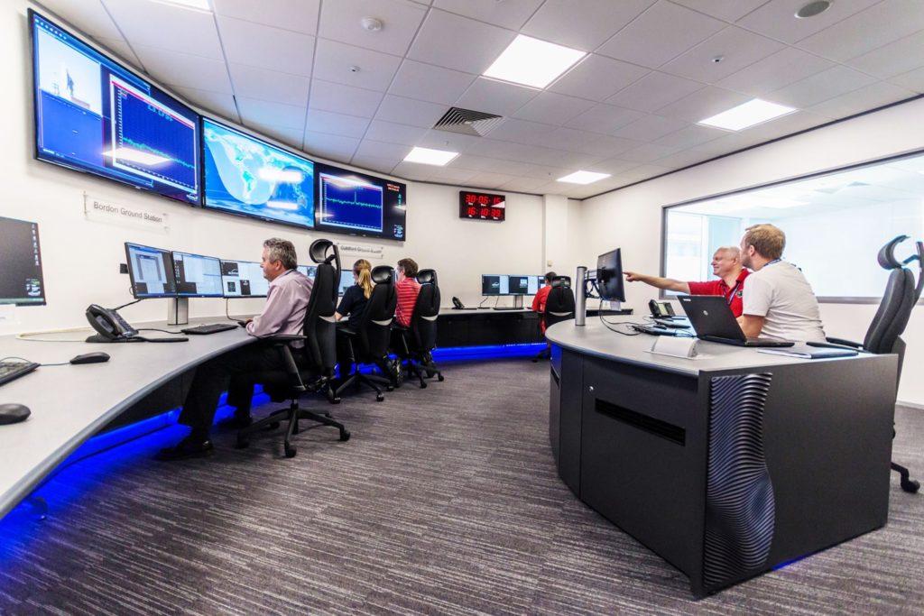 SSTL Spacecraft Operations Centre