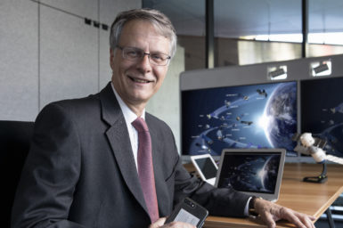 Dr Alex Held, Director of the CSIRO Centre for Earth Observation. ©COPYRIGHT KARL SCHWERDTFEGER