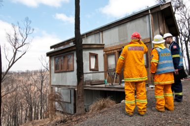 CSIRO is involved in bushfire research