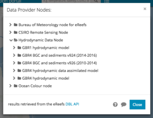 Browse Data Provider Nodes