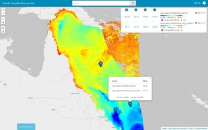 eReefs data visualisation portal
