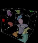 Calcite clusters