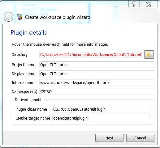 Workspace: Getting Started with OpenCL in Workspace