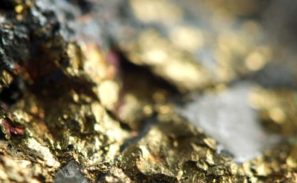 Gold and mica