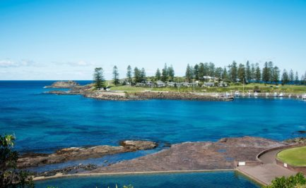 Photo of Kiama with a bay and swimming pool