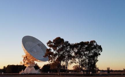 An ATCA antenna