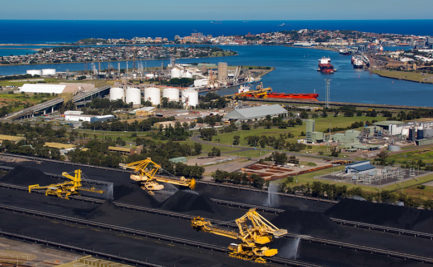 Kooragang Terminal and port