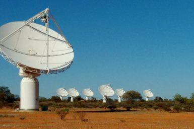 CSIRO's Australian Square Kilometre Array Pathfinder (ASKAP) is a radio telescope situated about 800 km north of Perth.