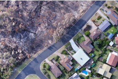 Urban bushfire